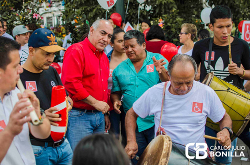 Bonilla inscribió candidatura a la Cámara por el Cauca