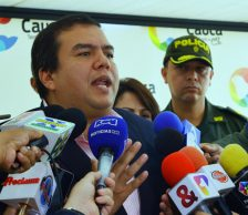 Pronunciamiento del gobernador Campo sobre orden público en Cauca
