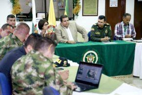 Gobernación afronta acciones contra la violencia