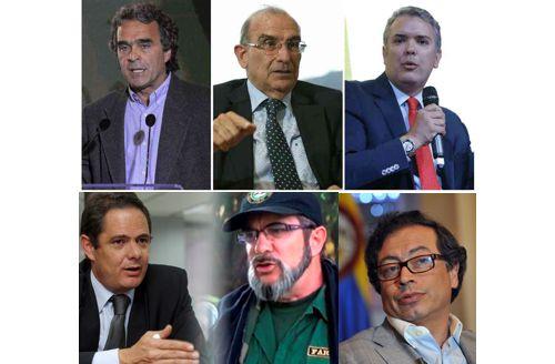 """¿La lucha por apropiarse del """"centro"""" en Colombia?"""