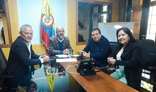 Gobernador se reúne con Minvivienda