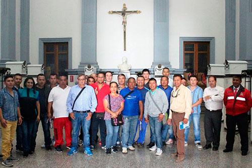 Taxistas de Popayán