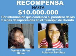 Buscan a dos adolescentes desaparecidas en Corinto