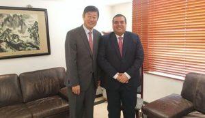 Gobernador continúa fortaleciendo Cooperación Internacional