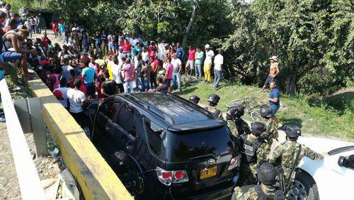 Dos muertos en retén militar El Hormiguero