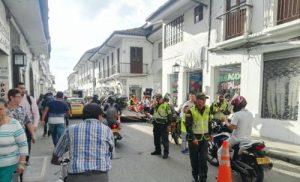 Se restringe circulación de motocicletas en Popayán