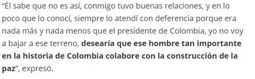 """Uribe trató a Pepe Mujica como """"criminal"""""""
