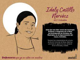 Fiscalía esclarece feminicidio de líder social en Cauca