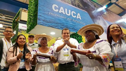 Más de siete mil personas han visitado el estand del departamento del Cauca en Anato 2018