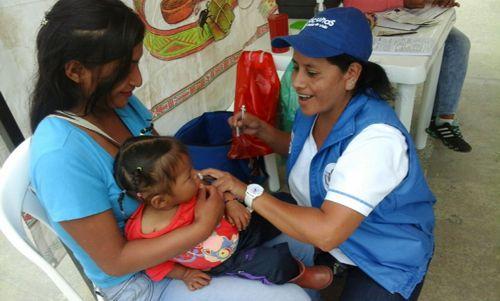 Cauca logró coberturas útiles de vacunación en el 2017