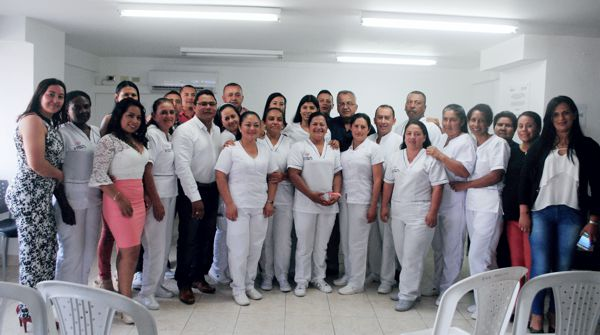 E.S.E Hospital de El Tambo formalizó 19 de sus trabajadores