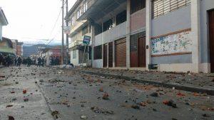 """""""LOS INSTIGADORES DE LA VIOLENCIA EN YUMBO PRETENDÍAN INCENDIAR LA SEDE DE SUTIMAC"""""""