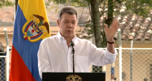 Presidente firma Conpes del Macizo en Mercaderes