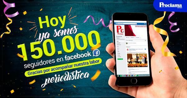 Más que fans, 150.000 amigos de Proclama del Cauca en Facebook