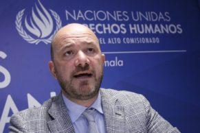 Nuevo representante del A.C. de la ONU para los D.D.H.H.