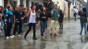 La visita a Popayán que generó rechazo