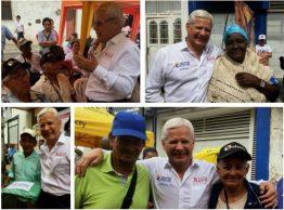 Gerente de Colombia Mayor visitó puntos de pago