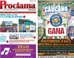 Lea gratis la edición impresa No. 397 de Proclama del Cauca