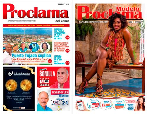 Lea gratis la edición impresa No. 396 de Proclama del Cauca