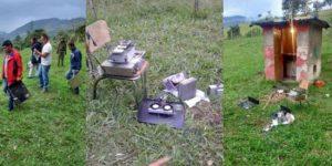 Queman transmisores de emisora comunitaria en el norte de Putumayo