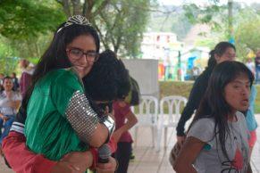 Niños en condición de discapacidad celebraron un Festival de Amor
