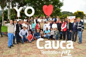 Encuentro de Gobierno y Gestión con alcaldes en Silvia