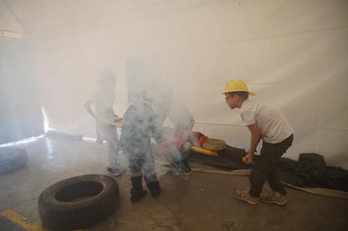Niños de Quilichao fueron bomberitos por un día
