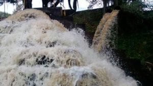 Bajos niveles de producción de agua por alta turbiedad