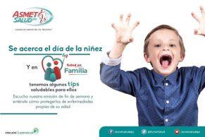 Asmet salud celebra el día de los niños