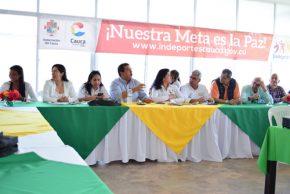 Ligas deportivas conocieron las inversiones que se hacen en el Cauca