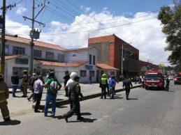 Amotinamiento en la URI de la Fiscalía en Popayán
