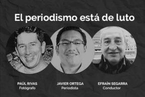 El asesinato de los tres trabajadores de El Comercio