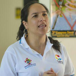 Lucy Amparo, Gobernadora del Cauca (e)