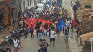 Marcha por la defensa de la educación pública superior