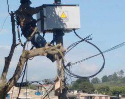 normalización del servicio de energía en Popayán