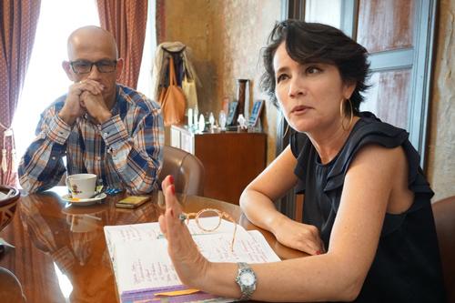 Presidente ejecutiva de la Cámara de Comercio del Cauca, Ana Fernanda Muñoz Otoya
