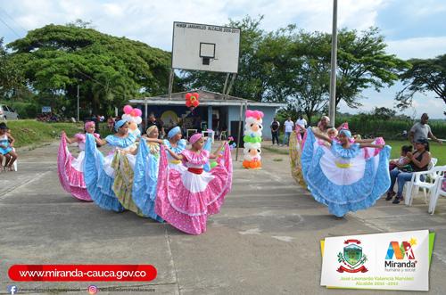Las veredas Guatemala y El Cabildo fueron los escenarios de las jornadas culturales