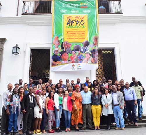 Gobernación destaca labor de funcionarios afros del Cauca