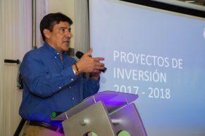CEO presenta sus principales proyectos en el Cauca