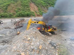 Golpe contra la minería ilegal en el Cauca