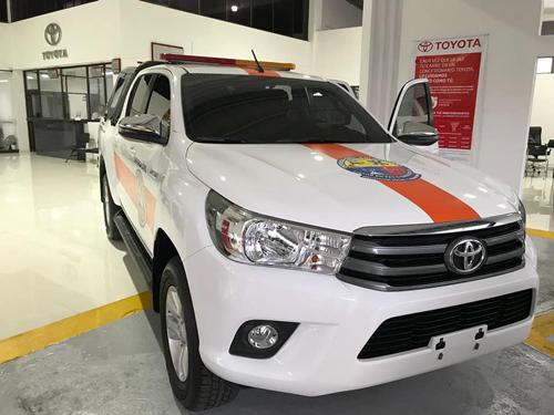 Corinto estrena vehículos para atención de emergencias