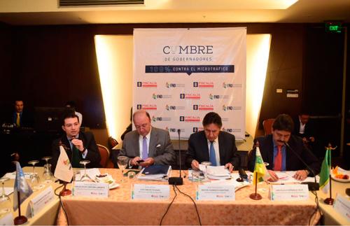 Microtráfico y seguridad: principales puntos abordados durante la Cumbre Gobernadores
