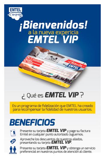 Se anunció el lanzamiento del programa 'Emtel VIP'