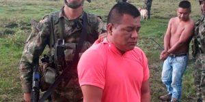 Capturado alias Mordisco, cabecilla de la disidencia de las Farc en el Cauca