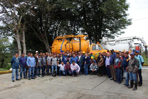 Acueducto de Popayán restaura equipos para mantenimiento de alcantarillado