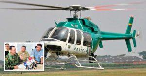 Helicóptero que transportaba al gobernador del Cauca aterrizó de emergenci