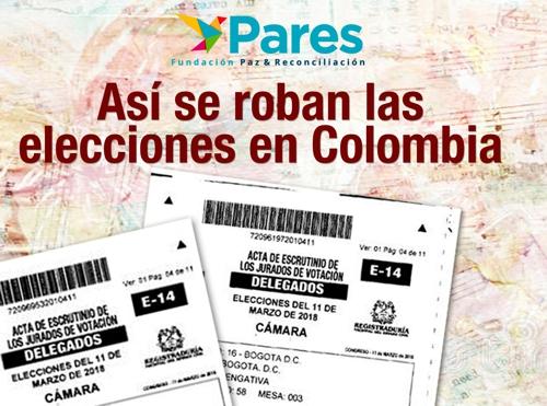 Denuncian presunto fraude en elecciones legislativas en Colombia