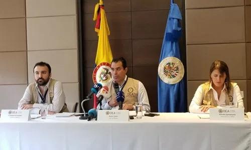 Veeduría Electoral de la OEA inicia despliegue en Colombia