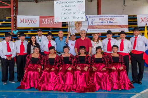 Colombia Mayor visita municipios el Cauca