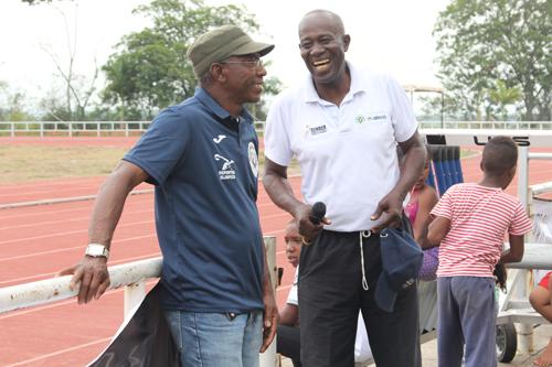 Hernán Zapata entrenador de atletismo